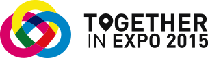 Logo Toghether in Expo 2015