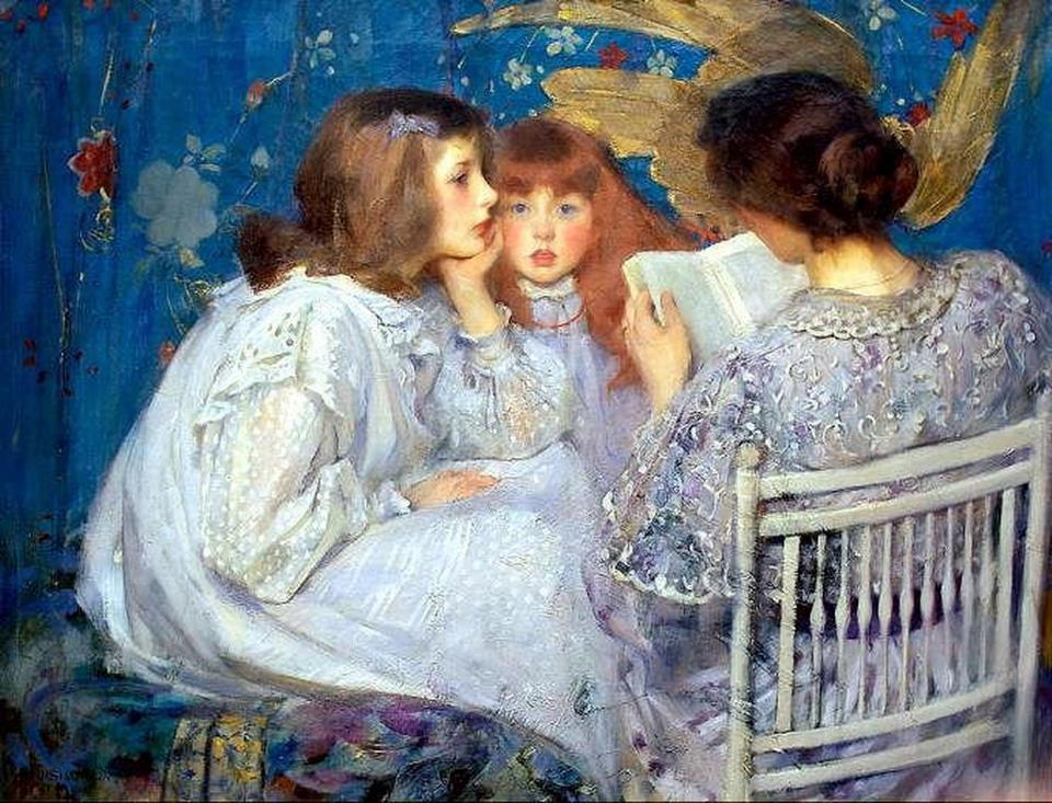 James Jebusa Shannon-Jungle Tales - 1895